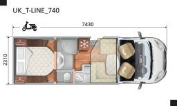 T-Line 740 Layout