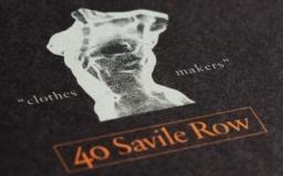 40 Savile Row Branding