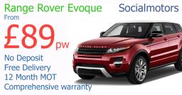 Range rover evoque on finance