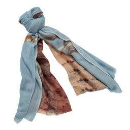Luxury silk photo scarves women gifts anniversary