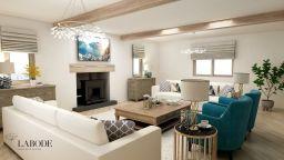 Labode - Living Room 3D render