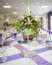 We make floral designs for events