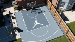 Home Basketball Key Court