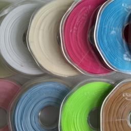 Blue Ribbon, Green Ribbon, Brown Ribbon, Cream Ribbon, Ivory Ribbon