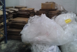 Loose Cardboard And Polythene collections for your business save money and your waste bills