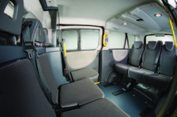 Interior of our 7 seater