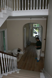 Staircase painting internal painting Lincoln