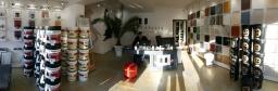 Wide angle showroom Impera Italia