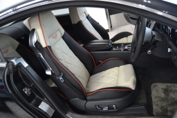 Bentley GT interior