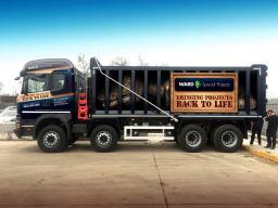 Ward Dinosaur Truck Wrap