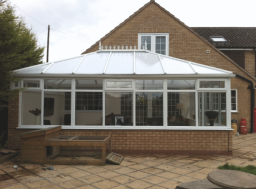 White UPVC Conservatory in Knowle, Solihull