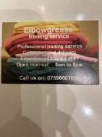 Elbowgrease ironing service