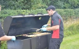 Flame BBQ chef will take care of BBQ so you can enjoy your party.