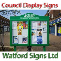 Council School Notice Display Signs Supplies