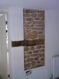 """A detail panel in a """"period"""" house remodelling in Lodsworth"""