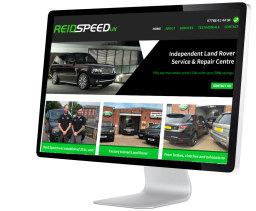 Reid Speed website