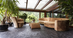 Lean-to glass conservatory Peterborough