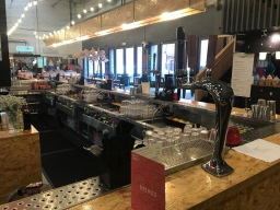 Baltic market bar design and build