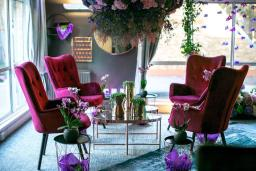 the Flower Fashion showroom