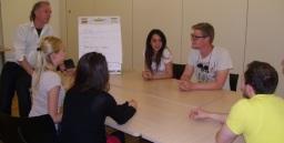 Group language lesson