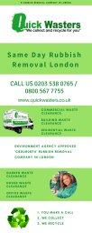 same day rubbish removal london