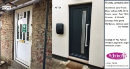 Virtuoso composite door; Admiral Windows Oxford