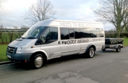 Minibus with Luggage Trailer - Airport Taxi