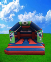 Football Bouncy Castle Hire Peterborough