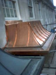 Copper Canopy by Essex Metal Roofing