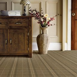 TARTANESQUE GLEN DOUGLAS CARPET ROOMSHOT MOSELEY I