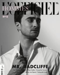 Daniel Radcliffe LOfficiel Hommes Cover, celebrity stylist