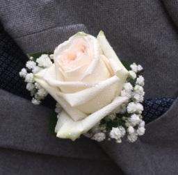 Buttonholes and Corsages. Flower Design, Ripon.