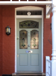 Bespoke front door supplied in London