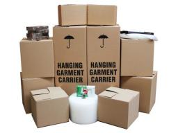 packing materials delivered prior to pending move