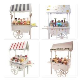 branded sweet cart hire aylin sweets