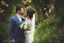 Abbey wood garden wedding in Cheshire