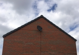 Sky Mini Dish and Octo LNB Installed and cabled to 3 TV's