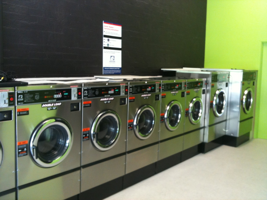 coin operated washing machine near me