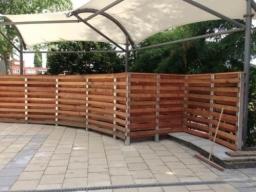 Wooden Fence Public