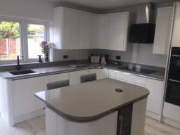 Specialist in design and installation of Quartz
