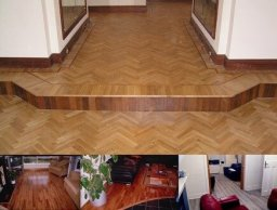 Wooden flooring: Hardwood, semi solid and laminate