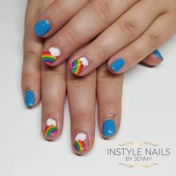 Hand Painted Rainbows