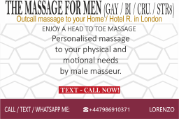 male body massage to hotel home in cental london