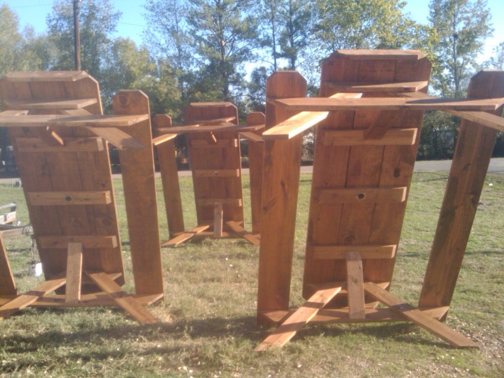 Pro Line Rustic Wood Picnic Table Rentals 13 Blackwood Ct