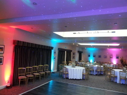 Uplights add colour to party occasions