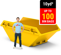10 CUBIC YARD MINI SKIP