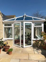 Conservatory built by Admiral Windows Oxford