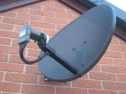 Hoffman Digital Installations Ltd. Sky Dish