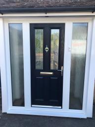 Stunning Composite Door with Sidelights