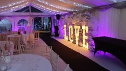 Engagement marquee hire
